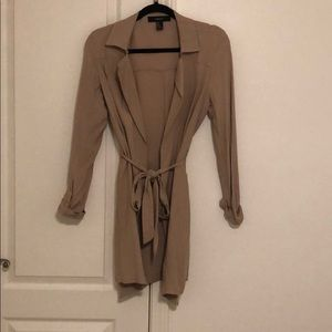 Forever 21 - Mid-length tan light weather trench